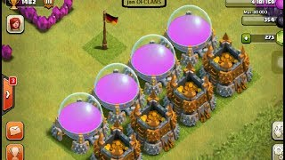 Clash of Clans Defense Free Resources Raid