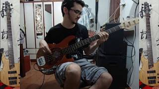 led zeppelin rock and roll bass cover tabs