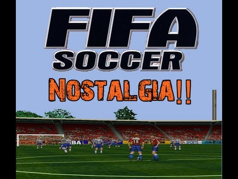 Brasil Vs Argentina - FIFA 2001: PS1