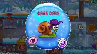 улитка боб 6 зимняя история / Snail bob 6 Winter story all levels