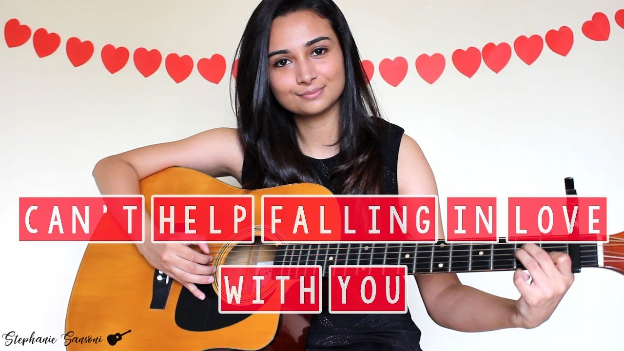 Can't Help Falling In Love With You | Cover by Stephanie ...