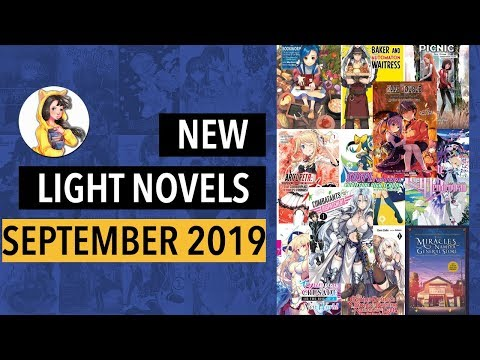 New Light Novels Releasing in English in September 2019