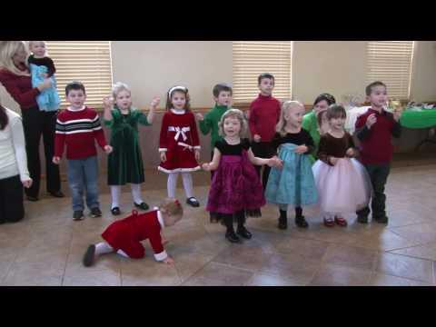 Kiddie Castle - ABC song Christmas show 2009 Plainfield Illinois