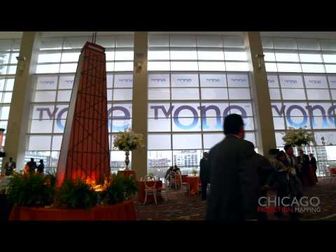 3D Projection Mapping at McCormick Place Conference Center - Chicago Projection Mapping
