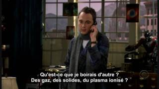 The Big Bang Theory - Leonard I\'m sick ! (HD)