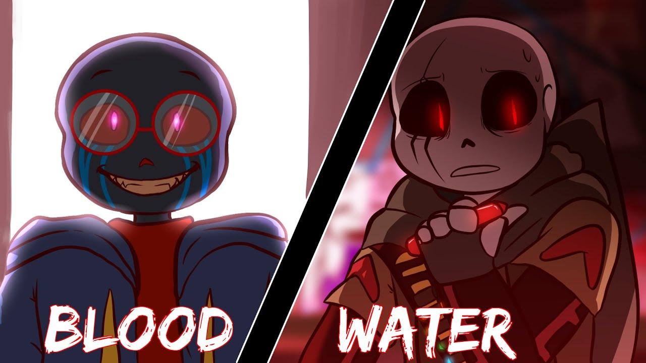 Blood Water Animation Meme Yandere Error Amp Fell Ink Flashing Lights Youtube