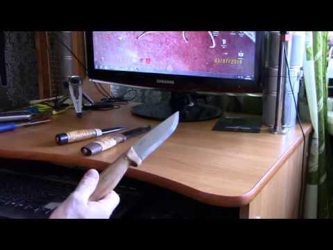 """Обзор ножей от """"HELLE"""" и небольшой тест."""