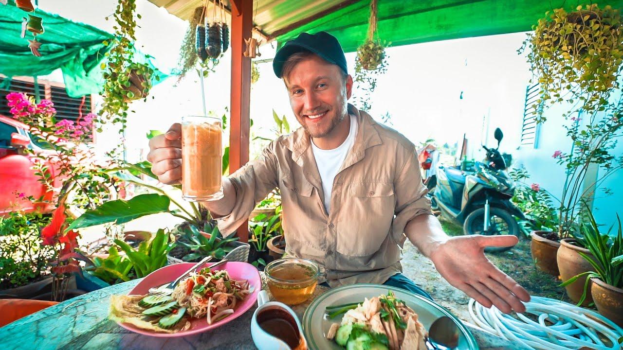 Best in Phang Nga / $4 Thai Food in Khao Lak / Thailand Motorbike Tour