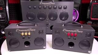 DiamondBoxx Model M3 - Maximum Bass! (400 Watts)