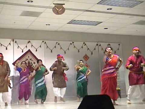 Quot Shetkari Quot Farmer Folk Dance At A2mm Maharashtra Din
