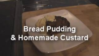 Delicious Homemade Bread Pudding & Custard - Myvirginkitchen