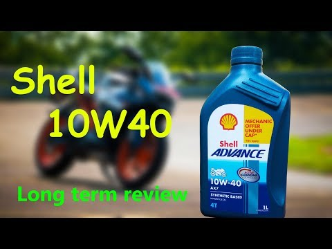 Best Engine Oil For Bikes-Shell Advanced 10W40 Review  Pros and Cons