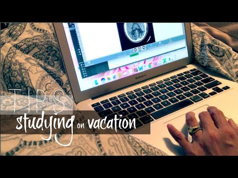 TIPS for STUDYING during vacation