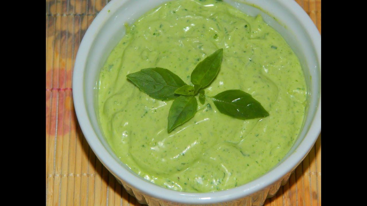 Como fazer molho verde