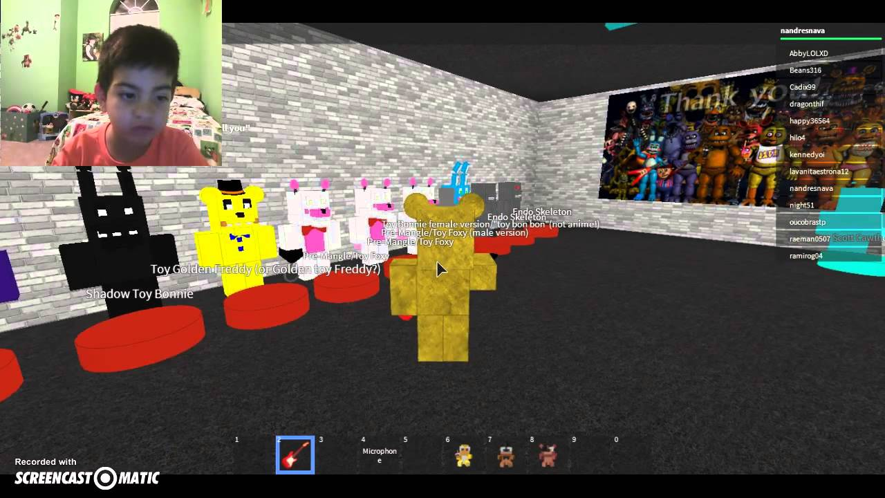 Roblox Animatronic World Youtube