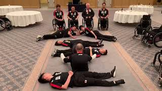 Japan Wheelchair Rugby Team   Reflections on 2018