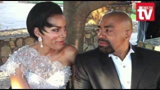 Connie and Shona Ferguson renew their vows