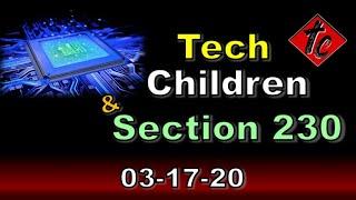 Tech, Children & Section 230
