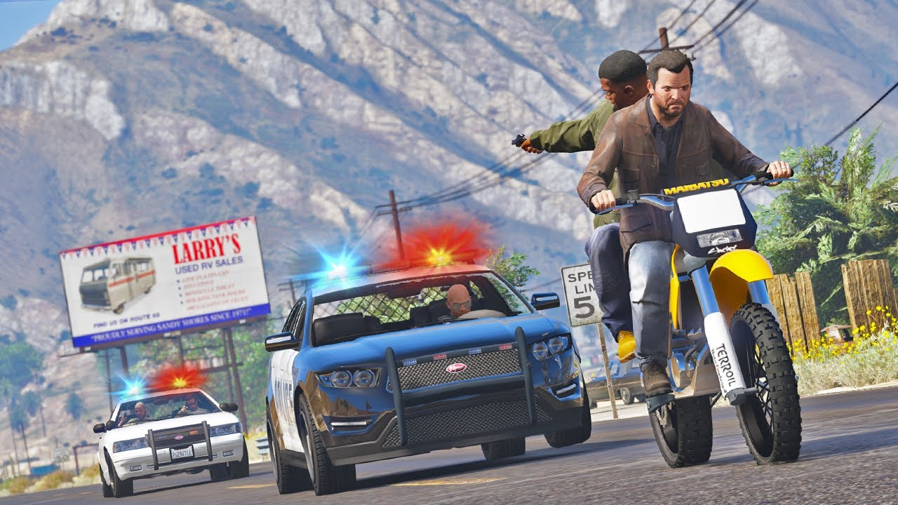 Download Bank Robbery in Broad Day Light   GTA 5 Action Movie