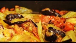 Рецепт - Печеные овощи