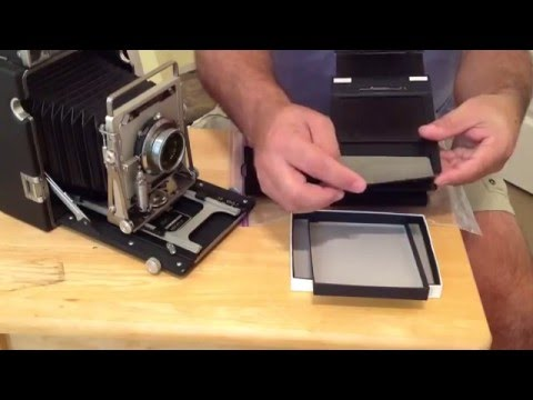 Large Format Photography Part 1: Film Handling and Loading
