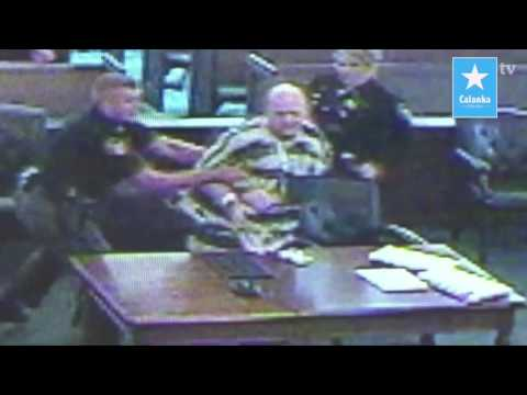 MAN ATTACKS HIS LAWYER WITH SHIT AND URINE IN COURT