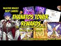 Thanatos Tower Rewards (ALL Floors and Modes) + Valkyrie Wing • Feather Fall Stats & Method To Get