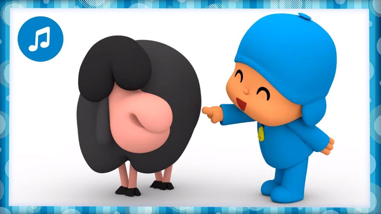 🖤🐑 CANCIONES INFANTILES de POCOYÓ - Bee bee ovejita negra | Caricaturas y dibujos animados