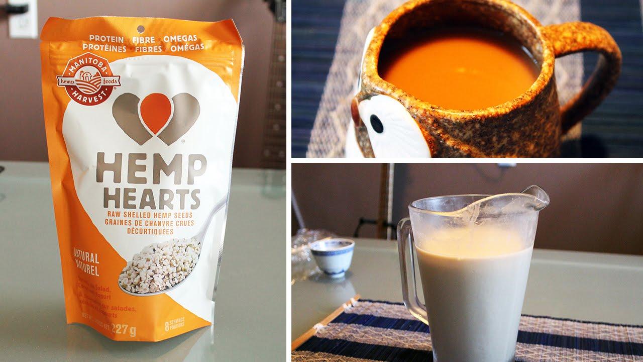 Fresh DIY Hemp Milk
