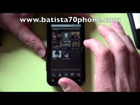Launcher Pro Plus su Motorola MB525 Video by batista70phone