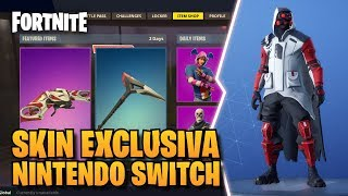 *SHOWCASE* EXCLUSIVE SKIN - NINTENDO SWITCH ? DOUBLE HELIX SET ? INSIDE THE GAME ? FORTNITE
