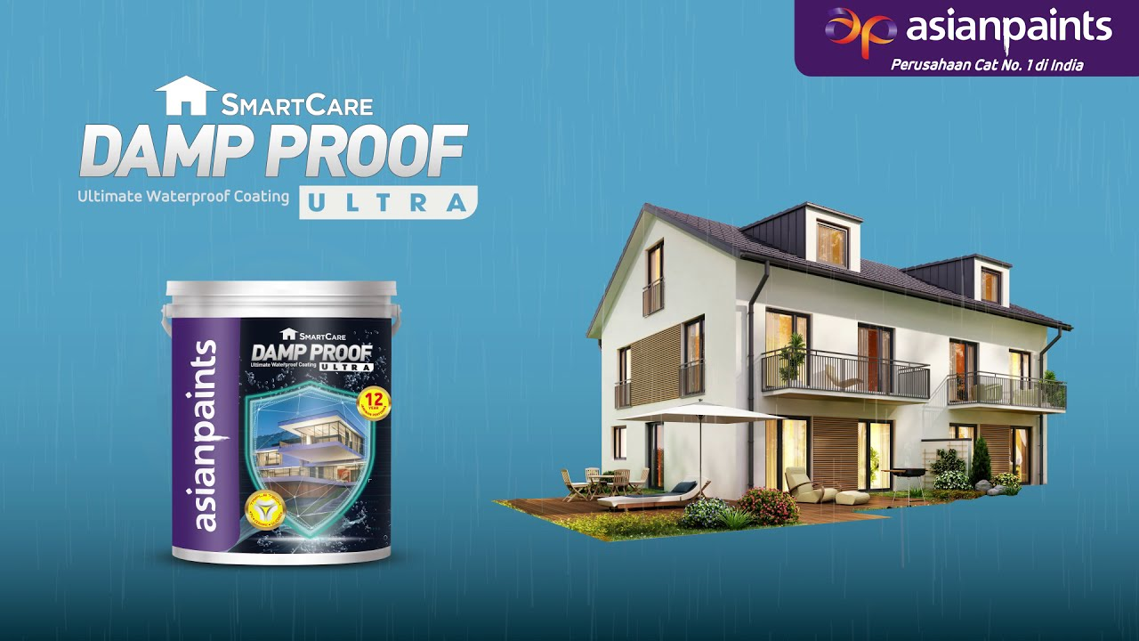 Asian Paints Indonesia Smartcare Damp Proof Ultra Youtube