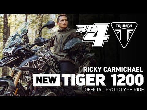 Ricky Carmichael Tiger 1200 Prototype Ride