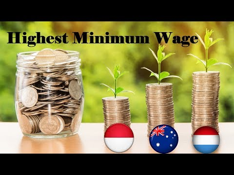Top 10 Countries With Highest Minimum Wages 2018