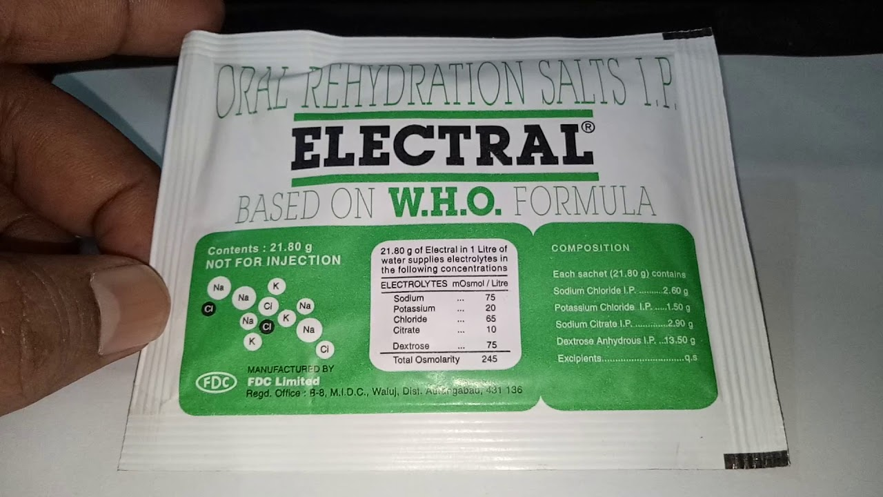 Electral Powder, is it safe? Uses, dosage full Review