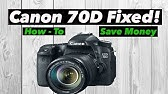 My Canon 70D is DEAD! [Not Powering On] - YouTube