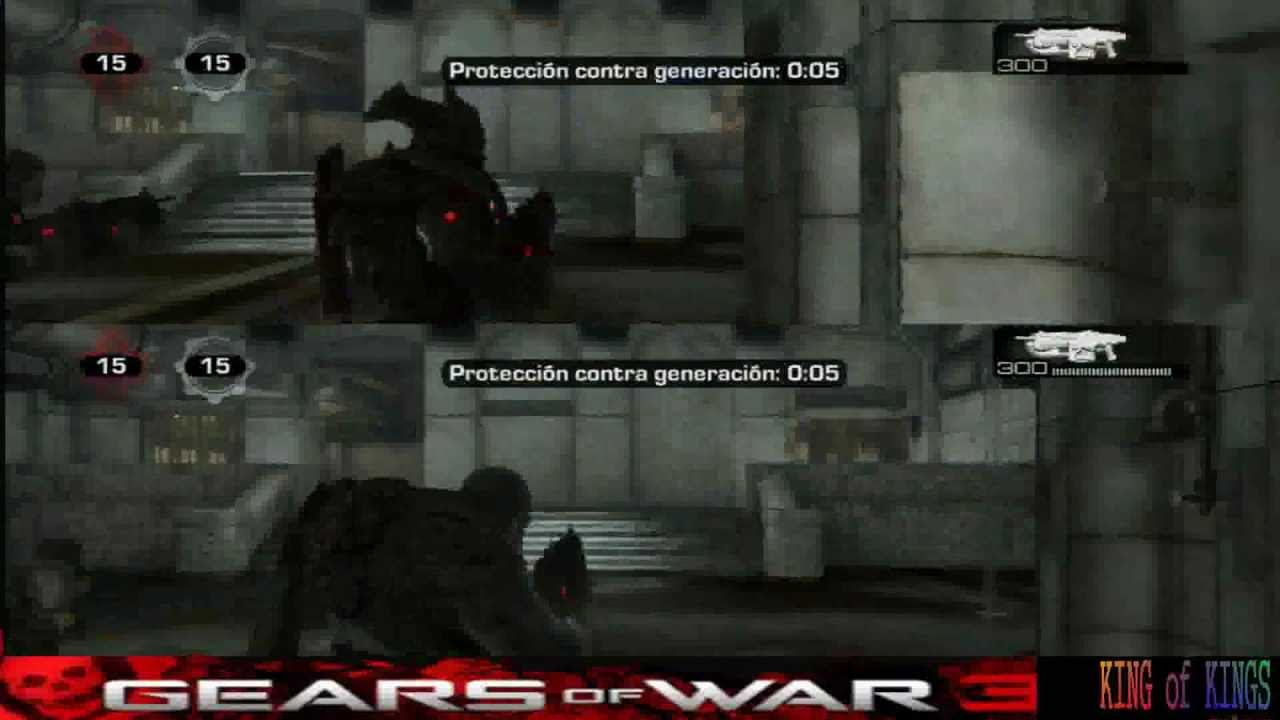 Gears Of War 3 Iniciar Perfil Invitado YouTube
