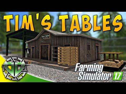 Snettertons Farm: Tim's Tables & Billy's Boards! : Farming Simulator 17 (PC)