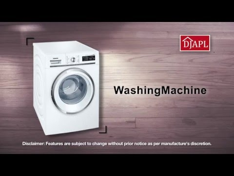 siemens iq700 washing machine youtube. Black Bedroom Furniture Sets. Home Design Ideas