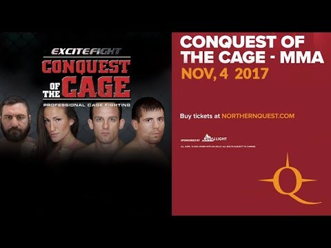 Conquest of the Cage November 4, 2017 (FULL EVENT)