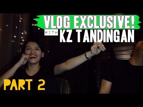 PART 2 - KZ TANDINGAN EXCLUSIVE INTERVIEW - AUTO TUNE? [#VlogNiRaffy EP 21]