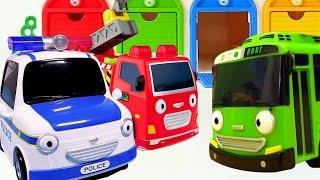 Die Helfer Autos retten den Bus – Helfer Autos auf Deutsch – Tolle Videos mit Spielzeugautos