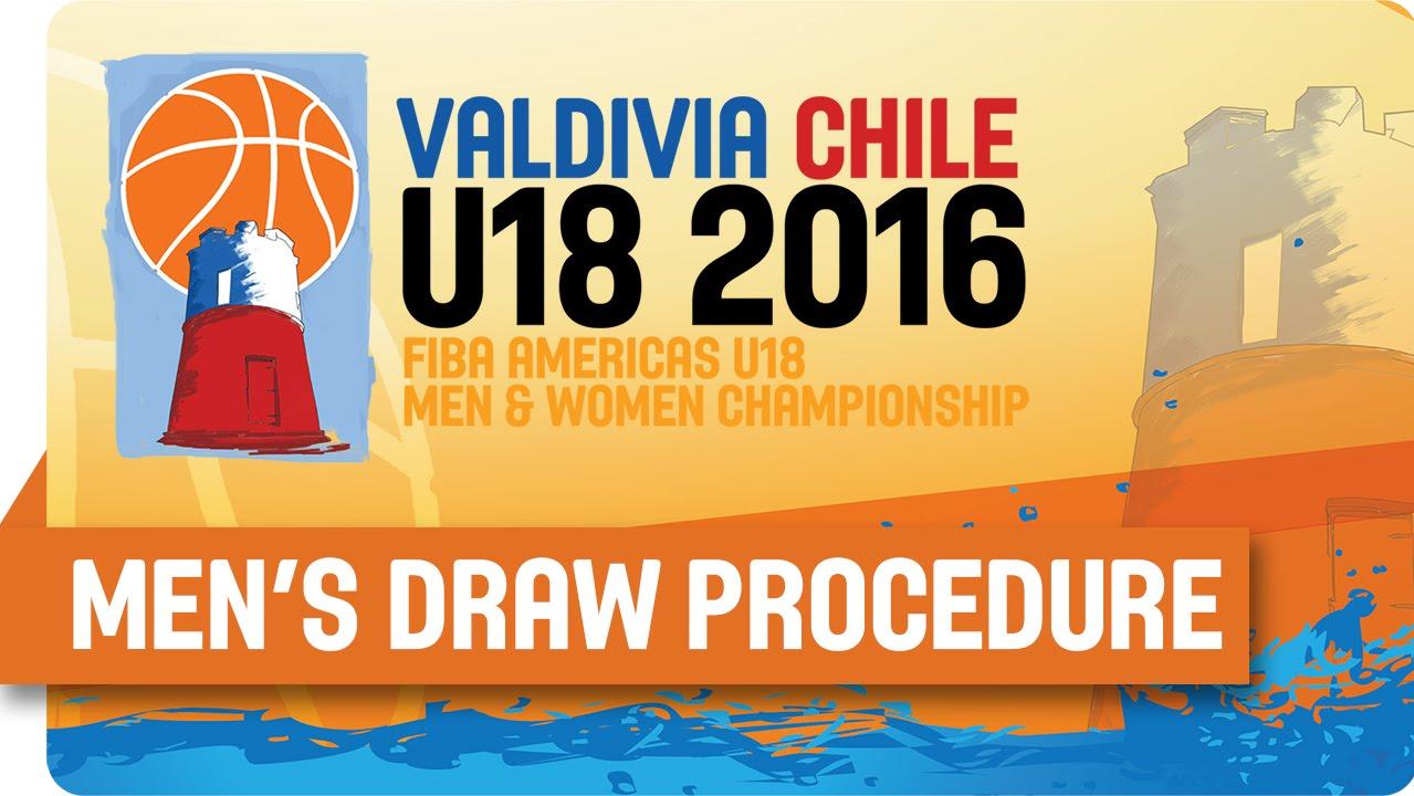 2016 FIBA Americas U18 Championship - Men's Draw Procedure