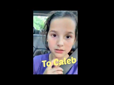 Annie's Musical.ly To Caleb