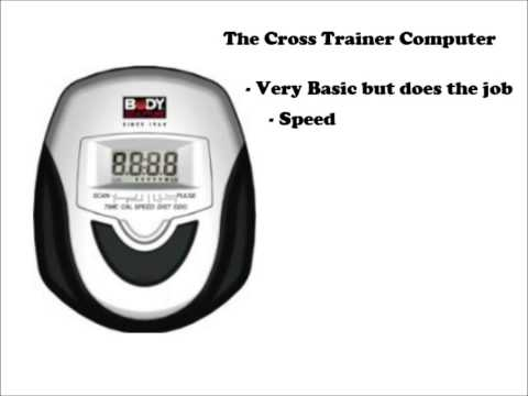 Body Sculpture Cross Trainer Review
