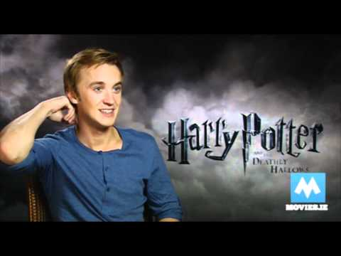 Draco Malfoy (Tom Felton) Interview for Harry Potter & the Deathly Hallows