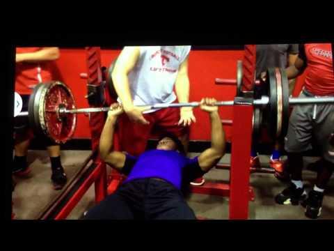 16 year old Theodore high school Alabama Lamical Perine bench press 315lbs