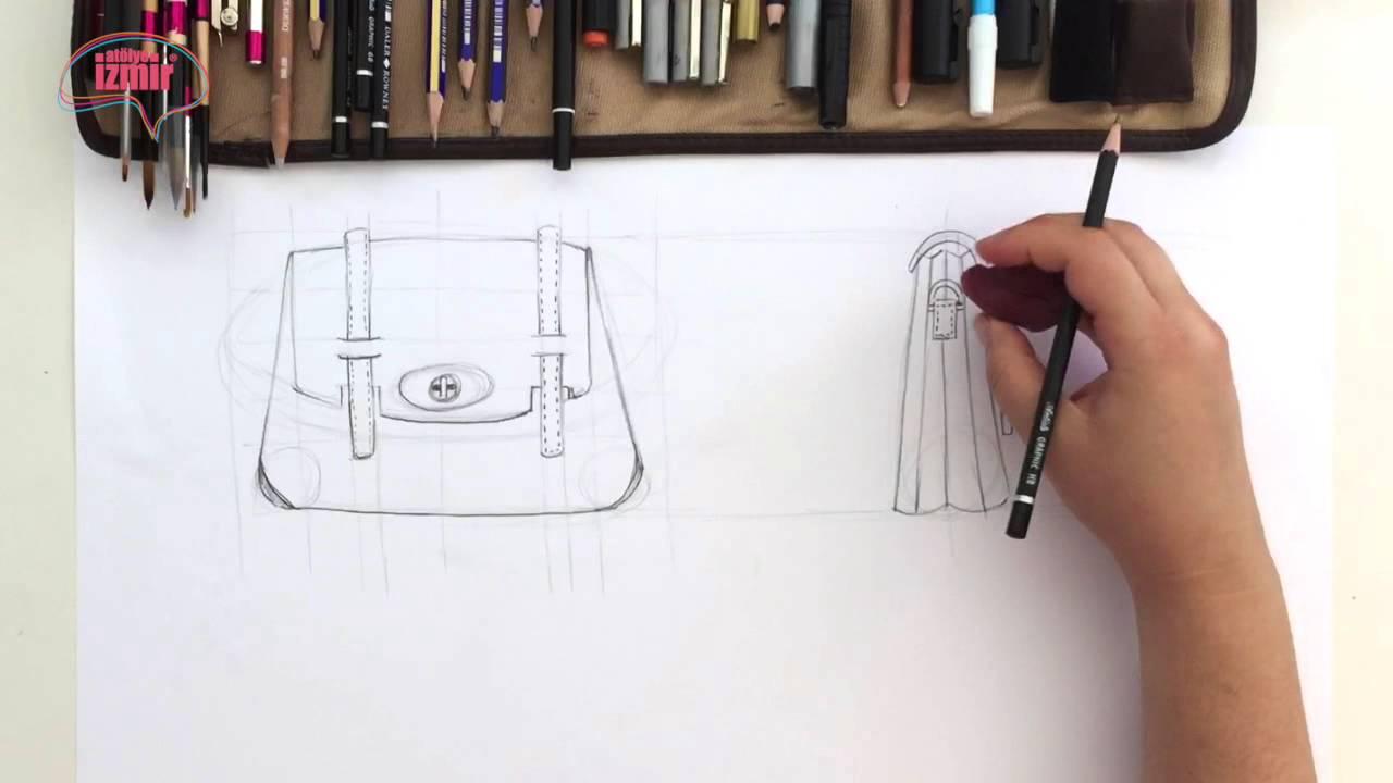 1f4b352999798 Atölye İzmir® Çanta Çizimi Workshop - YouTube