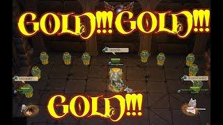 Сколько золота в усыпалке?
