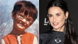 15 знаменитостей, которые были некрасивыми в детстве